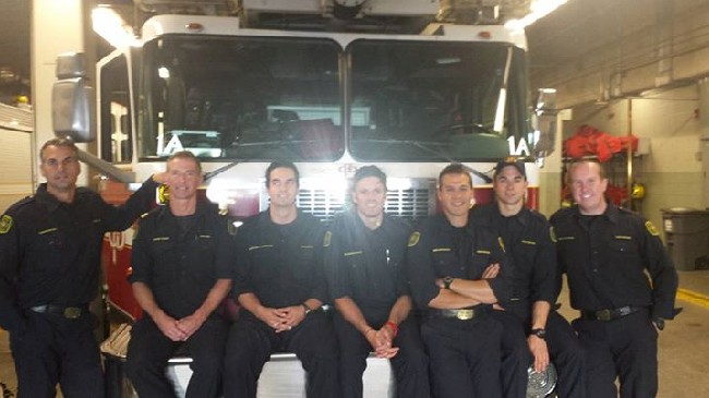 Lost Phone Survives 10 Days in River and Joy Ride with Calgary Firemen