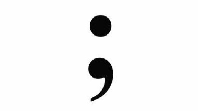 Semicolon Tattoo Coming September