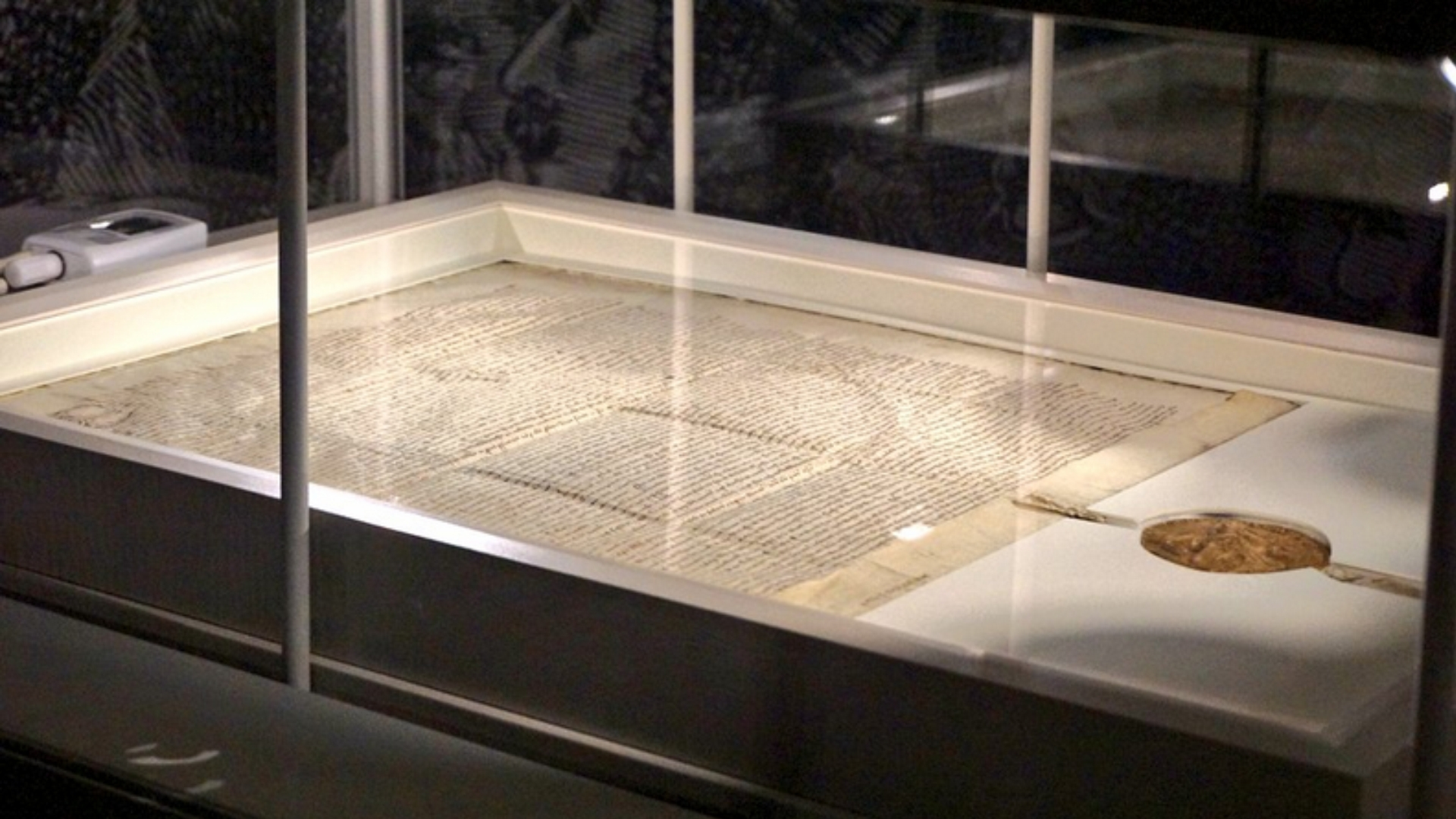Historic Magna Carta Ends Visit to Canada