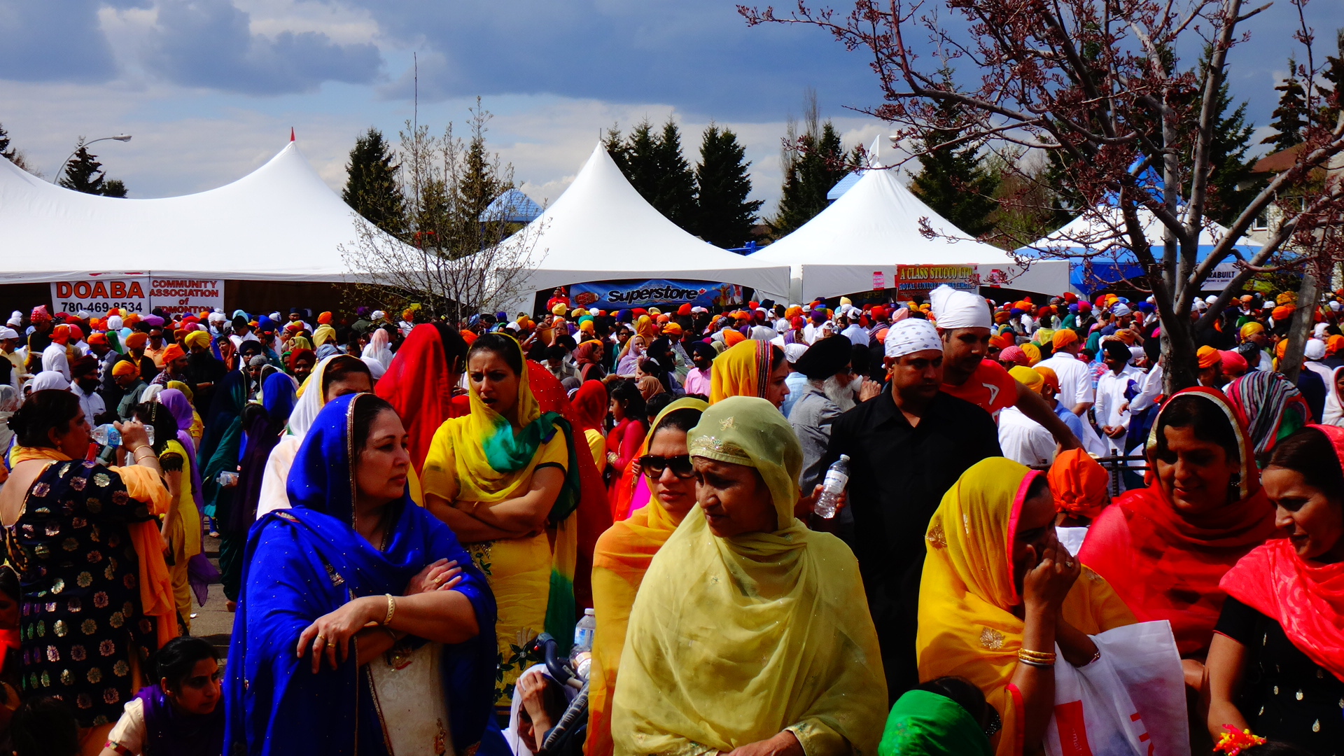 Sikh Parade Full of Colour and Flavour