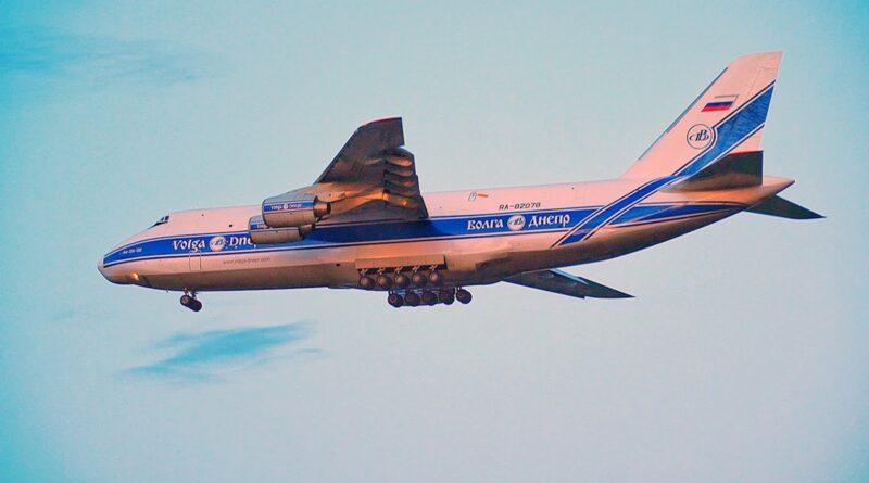 Three of World's Largest Planes Land in Edmonton